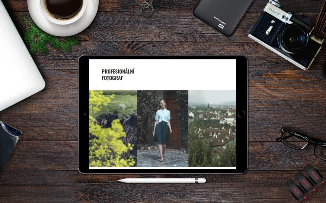 Fotograf, Výtvarník a Informatik anebo služby pro Vás
