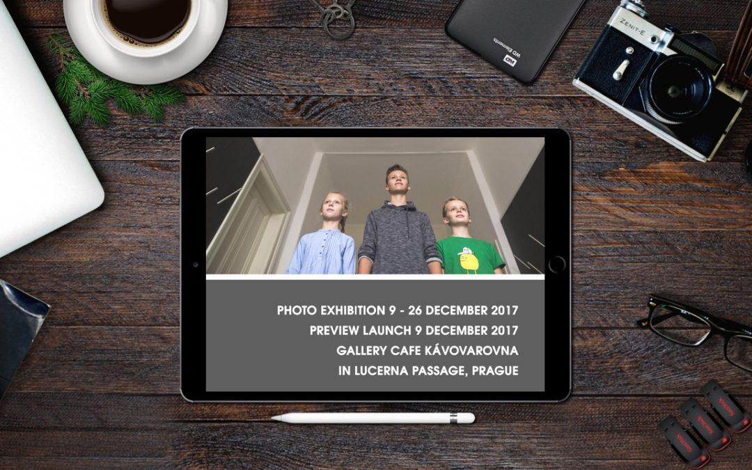 Výstava Portrét – Galerie Cafe Kávovarovna v pasáží Lucerna